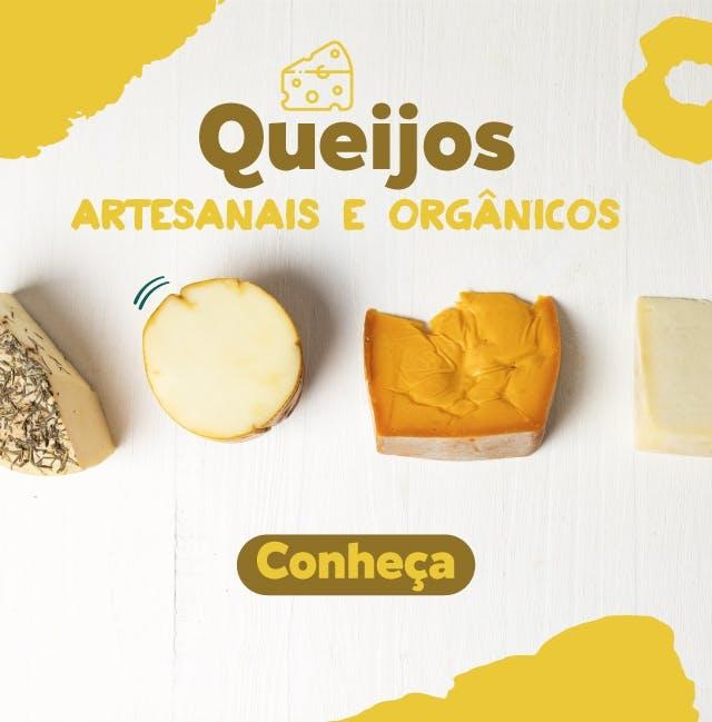 queijos orgânicos e artesanais