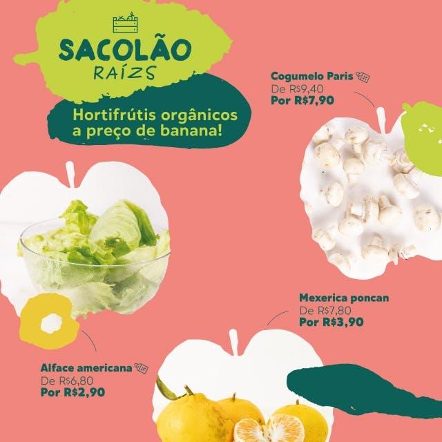 promoção de hortifrútis orgânicos